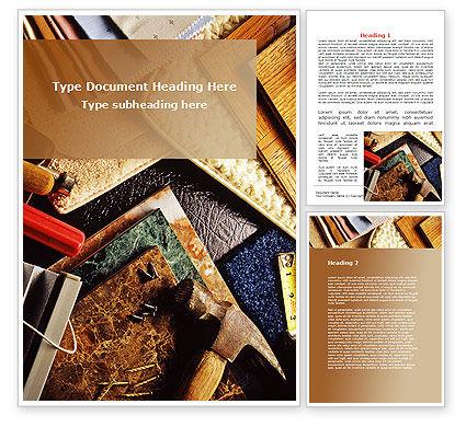 Binding Tools Word Template, 09277, Construction — PoweredTemplate.com