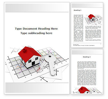 Construction: Cabin Word Template #09291