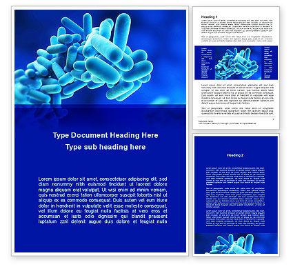 Legionella Pneumophila Word Template, 09344, Technology, Science & Computers — PoweredTemplate.com
