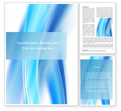 Abstract/Textures: Abstract Blue Word Template #09379