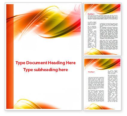Abstract/Textures: Modelo do Word - abstrato vermelho amarelo garrote #09380