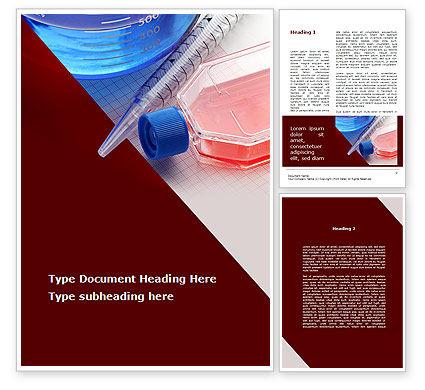 Medical: Modèle Word de verrerie de laboratoire #09415