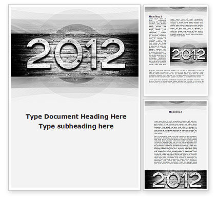 Global: 2012 Report Word Template #09435