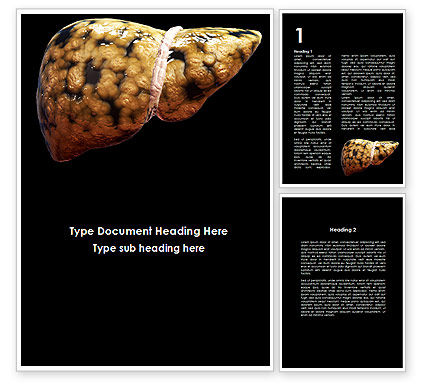 Medical: Nonalcoholic Fatty Liver Disease Word Template #09457