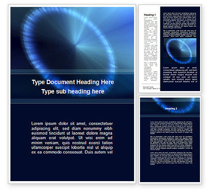 Abstract/Textures: Halo Word Template #09462
