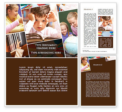 Elementary Education Word Template