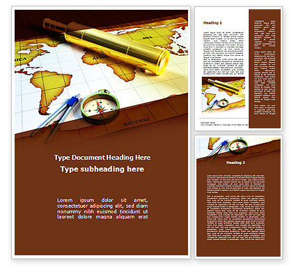Spyglass Word Template