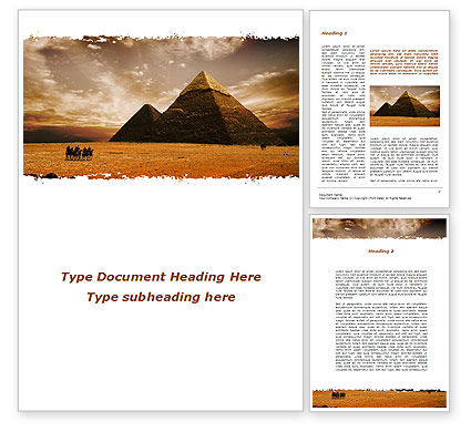 Pyramid of Khafre Word Template