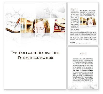 Education & Training: Problemen Met Het Gezichtsvermogen Van De Leerlingen Word Template #09519