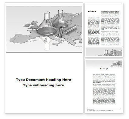 Laboratory Equipment of Europe Word Template