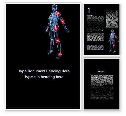 Arthronosos Word Template, 09610, Medical — PoweredTemplate.com
