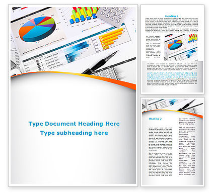 Consulting: Pie Diagrams and Histogram Word Template #09661
