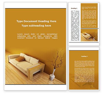 Lounge Word Template, 09666, Construction — PoweredTemplate.com