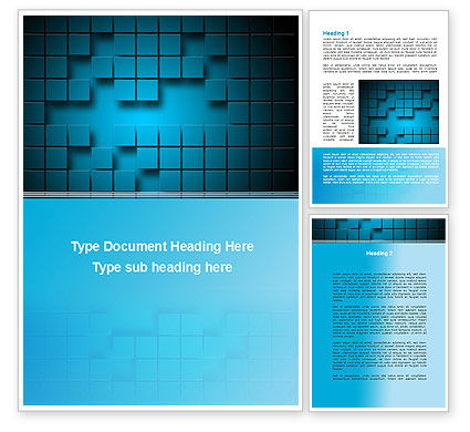 Abstract/Textures: Abstract Surface Of The Squares With Spaces Word Template #09758
