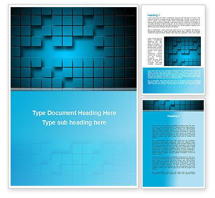 Abstract/Textures: 具有空格的正方形的抽象表面Word模板 #09758