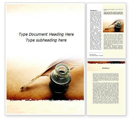 Poetry Word Template, 09776, Education & Training — PoweredTemplate.com