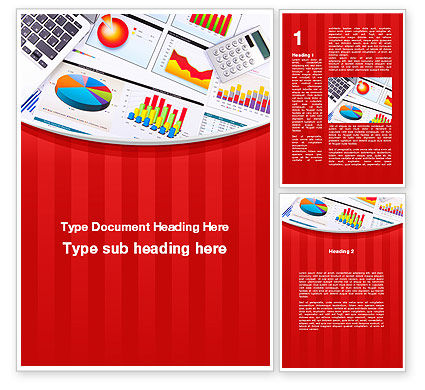 Financial/Accounting: Various Diagrams Word Template #09839