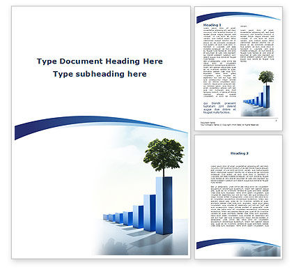 Growing Histogram Word Template