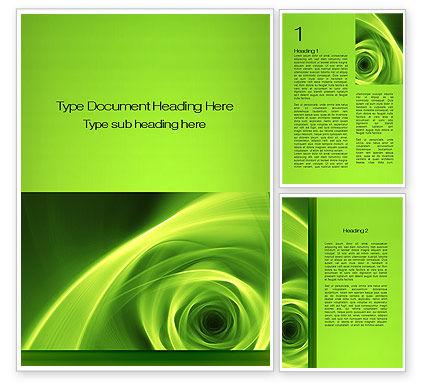 Abstract/Textures: Modèle Word de green whirlpool #09964