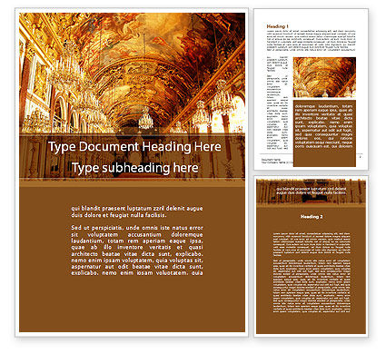 Art & Entertainment: Architecture of the Renaissance Word Template #09986