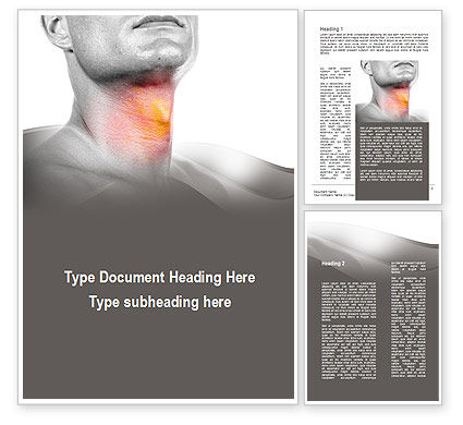 Diseases Of The Throat Word Template