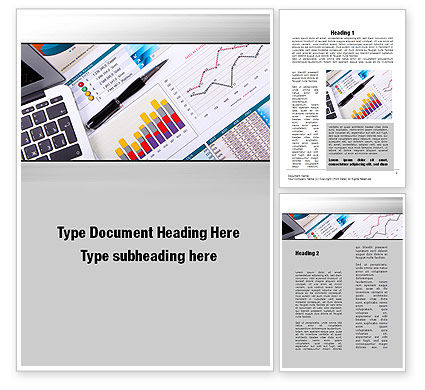 Accounting Weekdays Word Template, 10009, Financial/Accounting — PoweredTemplate.com