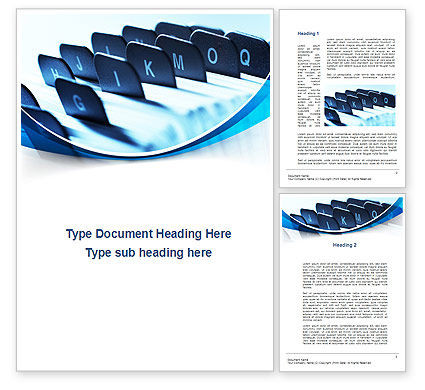 Business: Document Cabinet Word Template #10061