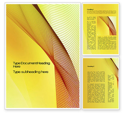 Abstract/Textures: Abstract Yellow Net Word Template #10081