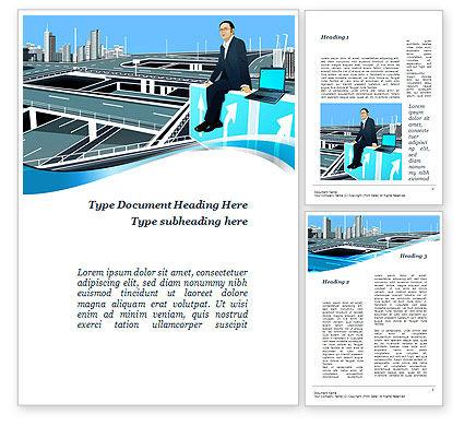 Business Alternatives Word Template, 10110, Business — PoweredTemplate.com