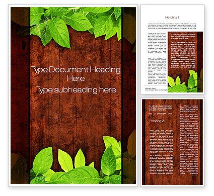 Abstract/Textures: 木製の表面 - Wordテンプレート #10121