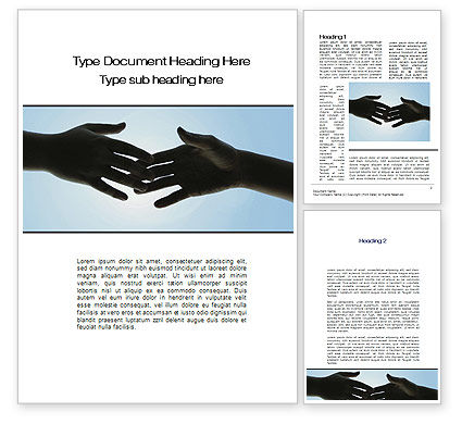 Touch Word Template, 10200, Religious/Spiritual — PoweredTemplate.com