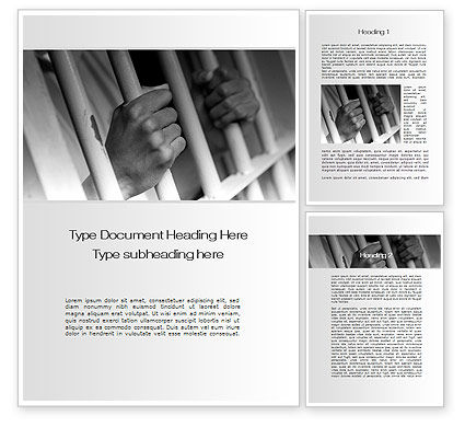 Legal: Custody Word Template #10201