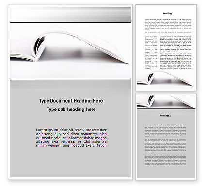 Business Concepts: New Page Word Template #10205