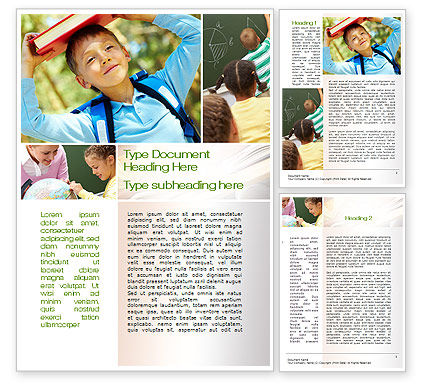 Education & Training: Learning Word Template #10275