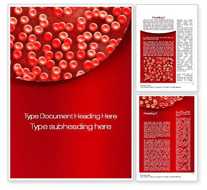 Hematology Word Template, 10407, Medical — PoweredTemplate.com