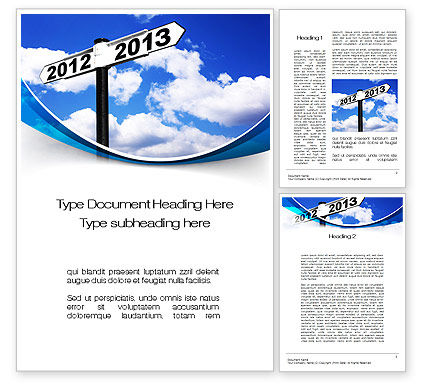 new year border word template 10409 business concepts poweredtemplatecom