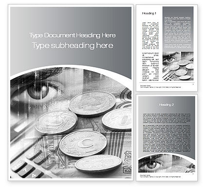 Financial/Accounting: Finances Word Template #10451