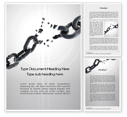 Weakness Word Template, 10458, Consulting — PoweredTemplate.com