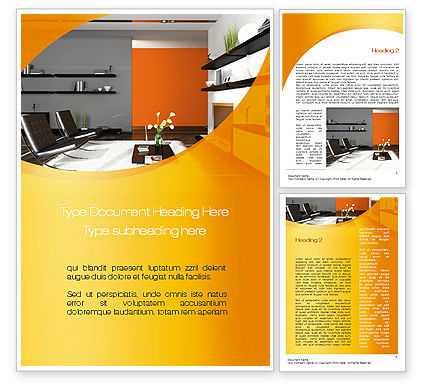 Home Interior Design Word Template