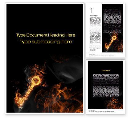 Fire Key Word Template