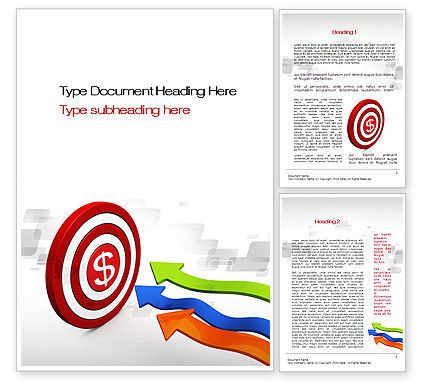Achieving a Goal Word Template, 10592, Consulting — PoweredTemplate.com