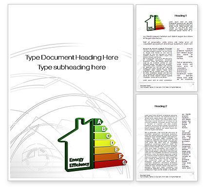 Domestic Energy Efficiency Word Template