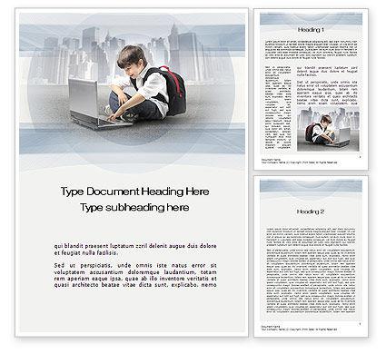 Education & Training: Modèle Word de éducation informatique #10698