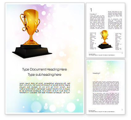 Sports: Cricket World Cup Word Template #10714