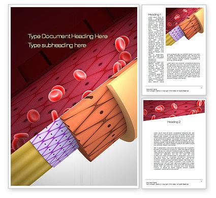 Artery Word Template, 10718, Medical — PoweredTemplate.com
