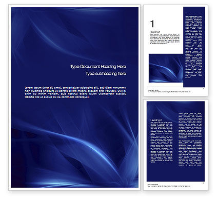 Abstract/Textures: Abstract Blue Flame Word Template #10719