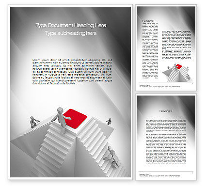 Winning Competition Word Template, 10781, Careers/Industry — PoweredTemplate.com