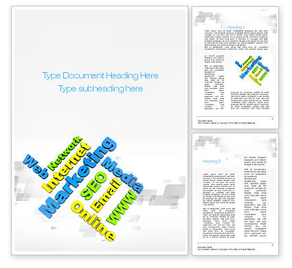 Internet Marketing Services Word Template