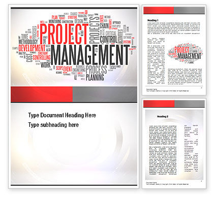 Ingredients of Project Management Word Template