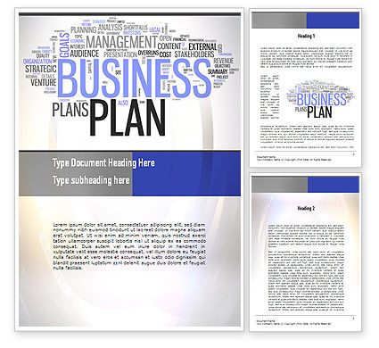 Business plan word cloud word template business plan word cloud word template 10888 consulting poweredtemplate friedricerecipe